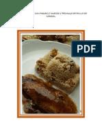 Arroz Basmati Con Pasas y Nueces y Pechuga de Pollo de Corral
