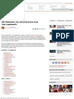 popular websites part two