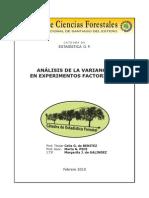 Analisis Varianza en Experimentos Factoriales