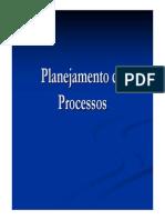 Aula 15. Planejamento de Processos