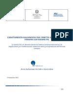 ADATTAMENTO RAGIONEVOLE - Nota Informativa Commento Sent. C-312 11
