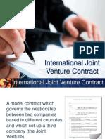 139684147 International Joint Venture Contract
