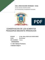 Universidad Nacional Jorge Basadre Grohmann-irradiacion
