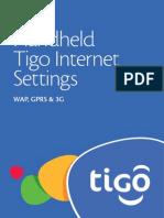 Handset Internet Manual Settings