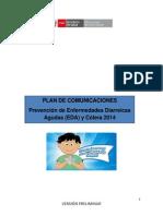 Plan de Comunicaciones-prevencion de Enfermedades Diarreicas y Colera