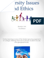 diversity issues and ethics