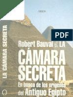 Bauval, Robert - La Camara Secreta