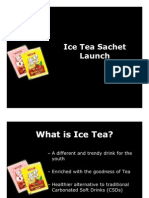 29415341 Ice Tea Powder Launch Plan