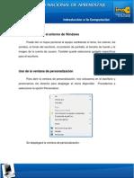 Personalizar Entorno Windows