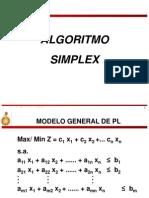Algoritmo SIMPLEX