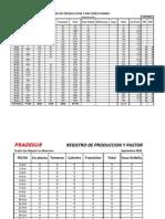 Registros Produccion y Pastoreo