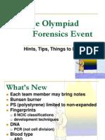 Forensics CoachesSeminar 08
