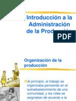 MA de DIRECCION PRODUCCION Introoduccion a La Administracion de Produccion FRANCISCO PRIETO