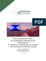 Nuevas Perspectivas Sobre Los Fundamentos Ideológicos Del Tahuantinsuyo Lo Sagrado Del Munod Inca de Acuerdeo a Dos Documentos Jeusiticos Secretos
