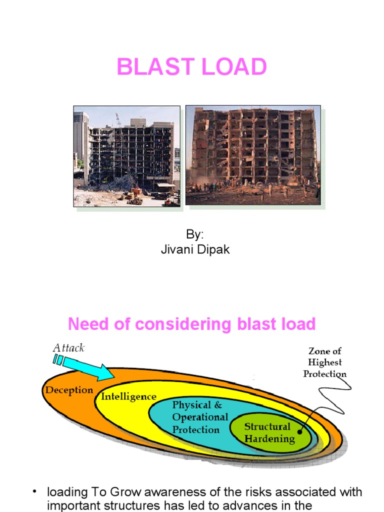 an analysis of lateral blast the sudden Load of the blast, a nonlinear modal analysis is used explosion is an occurrence of sudden release of huge scale lateral displacements for a 6 story building.