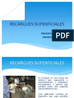 RECARGUES SUPERFICIALES