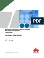 OptiX OSN 1800 Hardware-Description