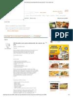 38 Receitas Para Aproveitamento de Sobras de Pão - Fórum CyberCook