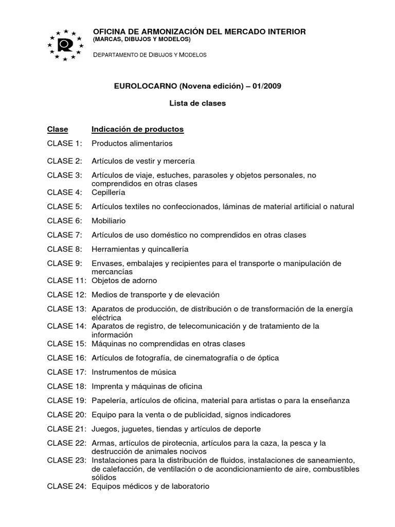 62ea2875a6cf Clasificación de Locarno (Español) 2009