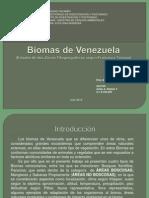 Biomas de Venezuela Definitivo Avilio Robles
