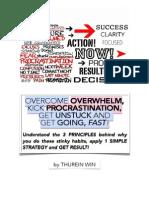 Overcome Overwhelm and Kick Procrastination