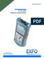 User Guide FTB-200 Spanish (1051387)
