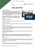 Género, La Agenda Pendiente-Pag12