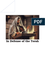 In Defense of the Torah