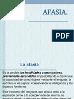 AFASIA. y Disfasia