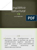 Lingüística Estructural