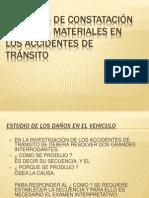 Peritajes Constatacion de Daños Materiales de Acc.trans