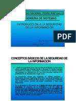 Clase 01 2012-i - Introduccion a La Seguridad de La Informacion