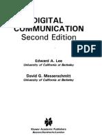 Lee Messerschmitt Digital Communication 2nd Edition