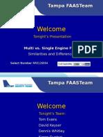 Multi Vs Single Engine FAA