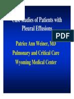 Weiner, Patrice - Pleural Effusions