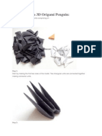 Amazon.com: KAMIKARA Penguin POP Action Paper Craft kit by Haruki ... | 198x149