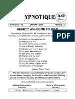 Hypnotique - January 14