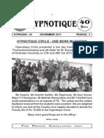 Hypnotique Bulletin - November 2013
