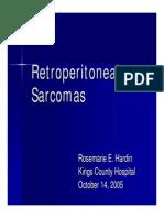 Retroperitoneal Sarcomas2