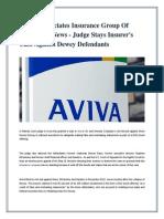 Dyman Associates Insurance Group Of Companies News - Judge Stays Insurer's Case Against Dewey Defendants