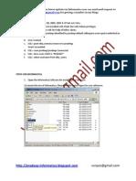 Informatica Version811Installation