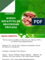 160-Nuevo Estatuto de Seguridad Privada - Fenalco 2011