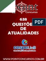638 - Questoes CESPE - Atualidades
