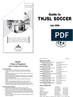 THJSL Parent Guide 2008