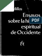 Millas-Ensayos Sobre La Historia Espiritual de Occidente
