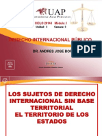Derecho Internacional Publico Semana 3 Exposicion