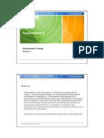 OS 5 SP1 Admin Session 1