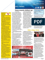 Business Events News for Mon 04 Aug 2014 - Business events visitors up, Yas 'popping' for biz events, Eat, stay, love, Sanety takes Addison and much more