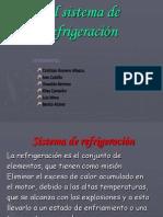 Sistema de Refrigeración Diapositivas Mecanica
