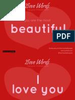 Love Words - Harmon Hall México - Alina Poulain